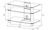 Sonorous TV-Möbel, TV-Racks, TV 32 zoll/inch - Sonorous - LF 6130-C-HBLK