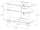Sonorous TV-Rack, TV 28 inch - Sonorous - NEO 370-C-BLK